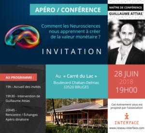 Apéro /conférence - Guillaume ATTIAS